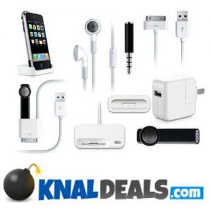 iPhone accessoires bij Knaldeals
